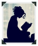 Reading silhouette