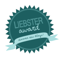 One Month Old and a Liebster Award - How Special do I feel?