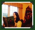 Me reading NY 2014