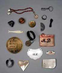 Tokens left by families to reclaim their children