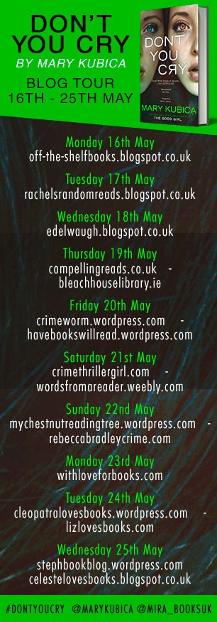 Blog Tour Banner Don't You Cry