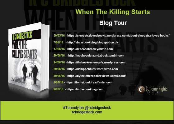 When The Killing Starts Blog Tour banner