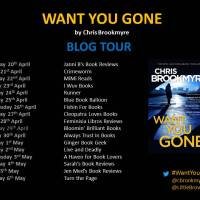 Want You Gone – Chris Brookmyre #Blogtour #bookreview