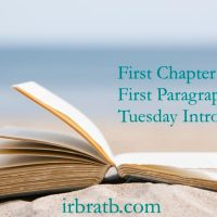 First Chapter ~ First Paragraph (September 25)