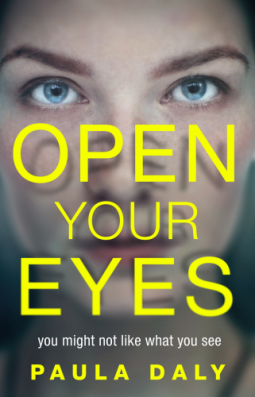 Open Your Eyes And Really See Stars >> Open Your Eyes Paula Daly Cleopatra Loves Books